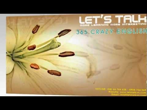 365 CÂU CRAZY ENGLISH - LESSION 1-10 [LETSTALKVN.COM]