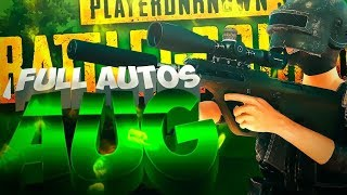 ¡FULL AUTOS SIN RECOIL! ⛔ AUG ⛔ | PLAYERUNKNOWN