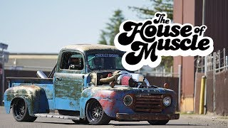 Chuckles Garage: 1949 Ford F1 - The House Of Muscle Ep. 10