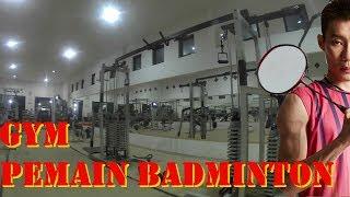 5 gerakan gym meningkatkan performa badminton  (lee chong wei)