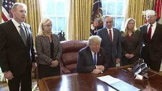 President Trump Signs an Executive Order