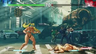 R. Mika Bikini Mod | Street Fighter V Bikini Barefoot Mod
