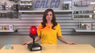 Federal Signal 191 XL Flashing Signal Light Demonstration