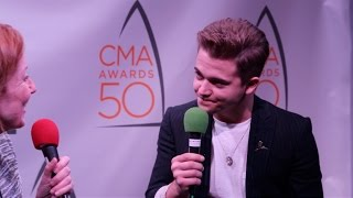 Hunter Hayes just wrote almost 100 new songs? | 2016 CMA Awards