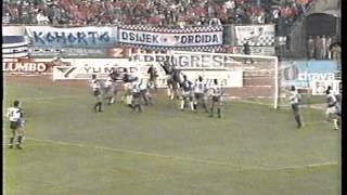 Osijek - Dinamo 1:0 1989/90