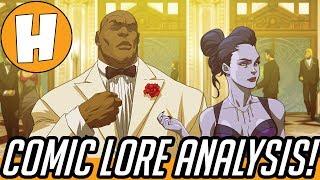 Overwatch Masquerade Comic - Lore and Story Analysis! | Hammeh