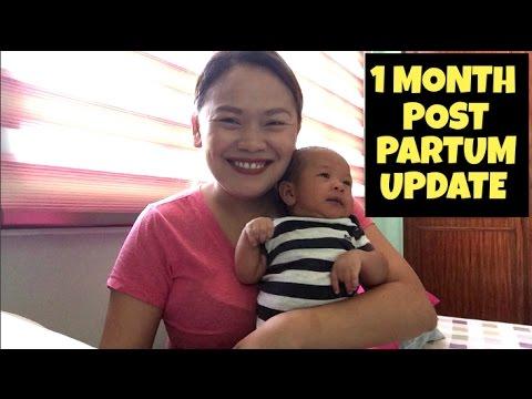 1 Month Post Partum Update | babynibeans