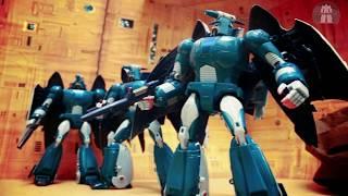 Transformers Stop Motion E.A.V.I Metal