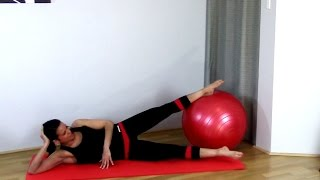 FREE Stability Ball Fit Ball Thighs Workout - Ball Thigh Blast BARLATES BODY BLITZ