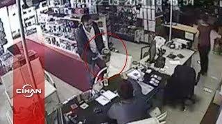 Veresiye gizli kamera almak isteyen sahte polis suçüstü yakalandı