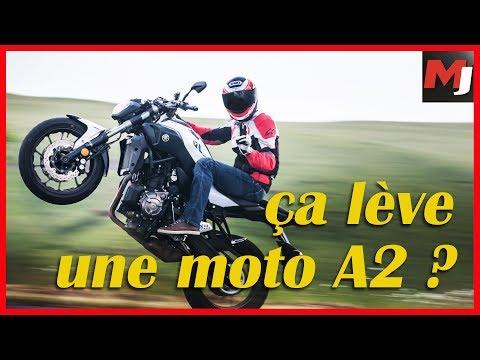 TEST MOTOS PERMIS A2 Peut on vraiment TOUT faire en MOTO A2