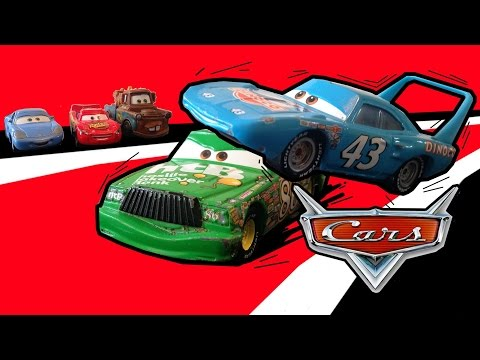 Pixar Cars Episode 2 The King vs Chick Hicks