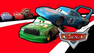 Pixar Cars Episode 2: The King vs Chick Hicks