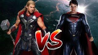 Superman VS Thor | Who Wins?