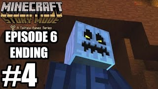 Minecraft Story Mode Episode 6 ENDING Gameplay Walkthrough Part 4 - No Commentary