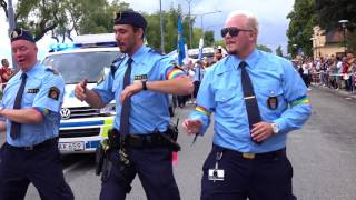 THREE GAY POLICEMEN DANCING IN PRIDE