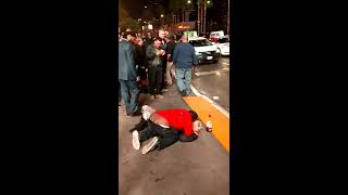 Brother taking advantage of a drunk white girl of the Vegas Strip