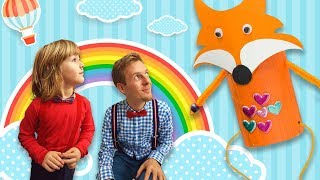 DIY FOR KIDS Learning Videos For Toddlers And Parents - How To Make Fantastic MR Fox CARTOON