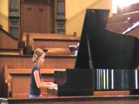 Lea Larkin performs The Elf and The Fairy by  Benton
