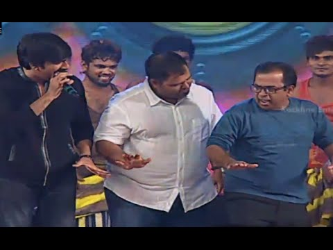 Ravi Teja, Brahmanandam, Hansika & Funny Dance Performance @ Power Movie Audio Launch