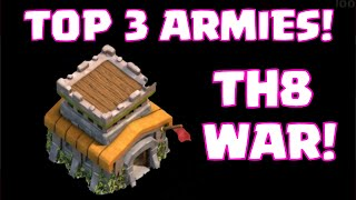 Download Clash of Clans Town hall 8 Top 3 Clan War Attack Strategies | Best 3-Star Attack Strategy 3Gp Mp4