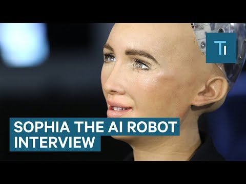We Talked To Sophia — The AI Robot That Once Said It Would Destroy Humans