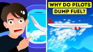 Why Pilots Dump Fuel Before Landing