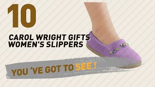 Carol Wright Gifts Women's Slippers // New & Popular 2017