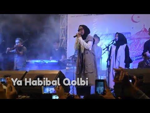 Subhanallah merdu sekali suara Nissa Sabyan menyanyikan lagu Ya Habibal Qolbi