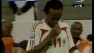ملخص مباراة الإمارات والسعودية تصفيات كأس العالم UAE VS KSA