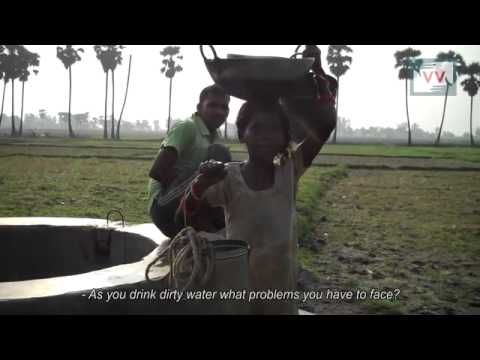 Water Problem in Nabinagar, Bihar - Video Volunteers Ashok Reports