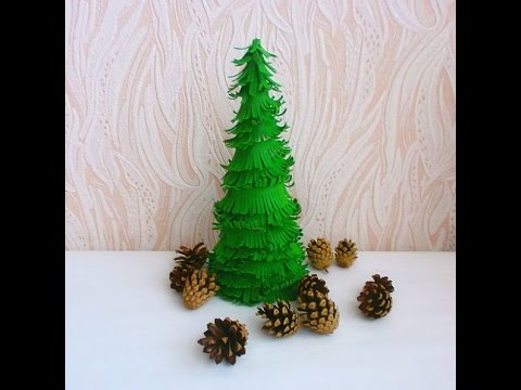 How To Make A Green Fir Tree - DIY Crafts Tutorial - Guidecentral