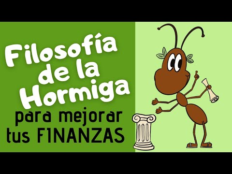 🐜 Cómo aplicar la filosofia de la hormiga de Jim Rohn a las finanzas personales