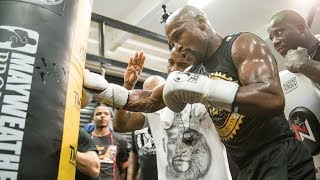 Floyd Mayweather: Media Workout | Mayweather vs. McGregor - Aug 26. on SHOWTIME PPV