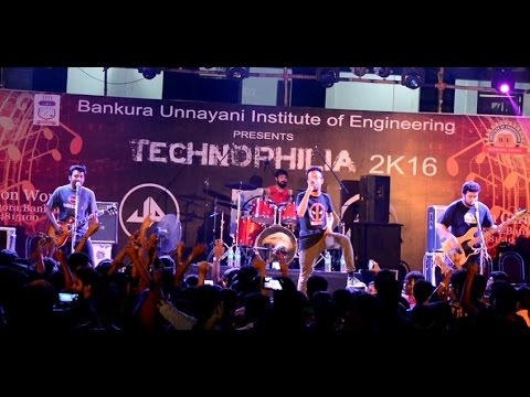 UNDERGROUND AUTHORITY_Kkash Meri Girlfriend_Live_at_Bankura Unnayani Institute of Engineering |HD|
