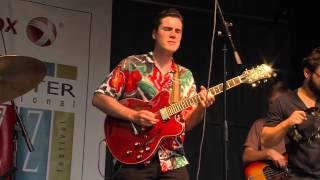 Rad Trads perform on the Jazz Street Stage during the 2015 Jazz Festival