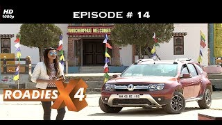 Roadies X4 - Episode 14 -  Bhutanese pillow fighting