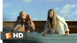 The Blue Lagoon (7/8) Movie CLIP - Trouble (1980) HD