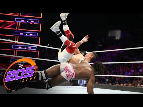 Rich Swann vs. TJP: WWE 205 Live, Sept. 12, 2017