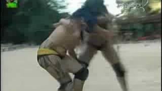 Amazonian indians - female wrestling