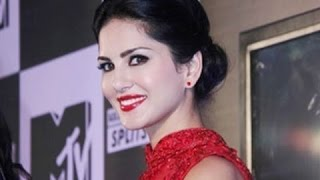 Bold Star Sunny Leone At Launch Party Of MTV Splitsvilla 7