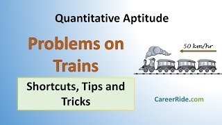 Problems on Trains - Shortcuts & Tricks for Placement Tests, Job Interviews & Exams