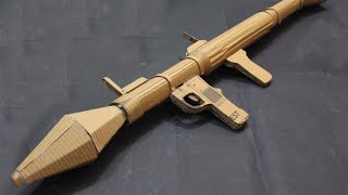 How to make a cardboard RPG (rocket launcher)