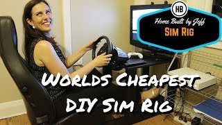 World's Simplest DIY Sim Racing Rig