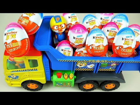 Xxx Mp4 Kinder Joy Surprise Eggs And Pororo Truck Toys 3gp Sex