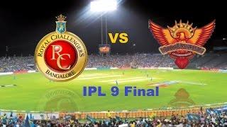 RCB vs SRH, VIVO IPL9 Final 2016: Full Match Preview