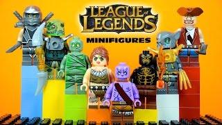 LEGO League of Legends KnockOff Minifigures Set 1 (Bootleg)