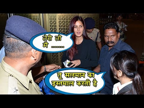 Xxx Mp4 Katrina Kaif FIGHTS With Salman S Fan At The Airport Watch Full Video 3gp Sex