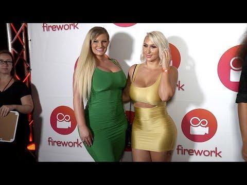 Xxx Mp4 Julie Cash And Nina Skyy Firework App Launch Event Red Carpet 3gp Sex