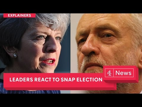 UK general election Theresa May s full speech Jeremy Corbyn Nicola Sturgeon and Tim Farron react